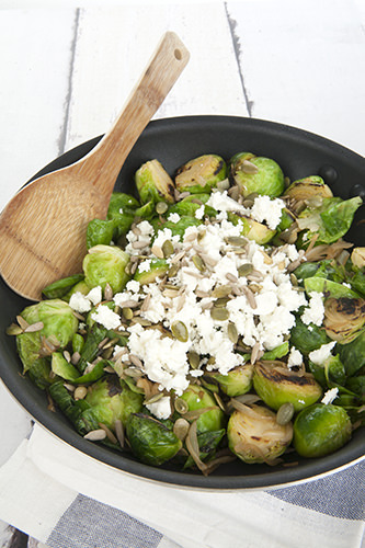 Caramelised Brussel Sprouts Recipe