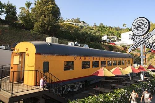 Carneys Tram Sunset Strip