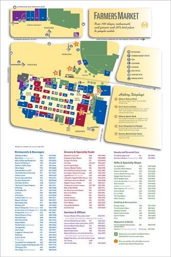 Farmers Market & Grove Map