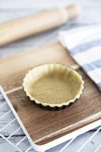 Homemade Quiche Pastry Shell
