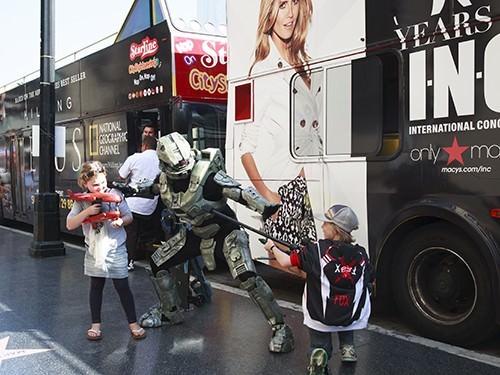 Kids Combat Buskers