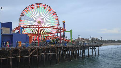 Santa Monica Carnival Pier