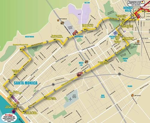 Starline Yellow Route -Santa Monica