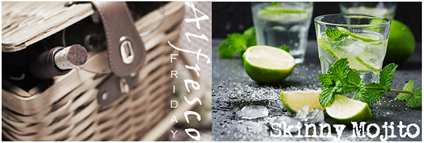 Alfresco Friday Skinny Mojito