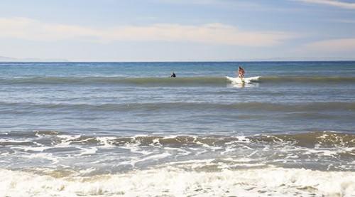 Brett's First Wave Santa Barbara