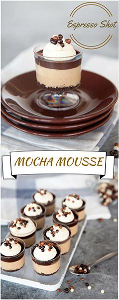 Chocolate Mocha Mousse Cake Recipe