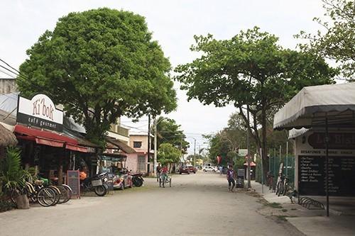 Main Street Tulum Mexico
