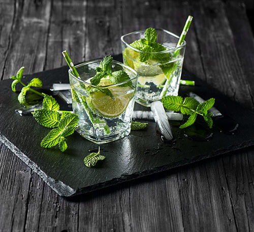 Making Skinny Mojitos