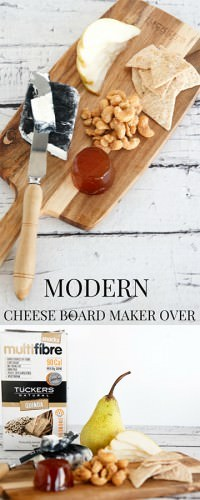 Modern Cheese Board Flavours