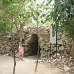 Through The Tulum Stone Walls