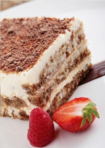 Try a slice of Tiramisu