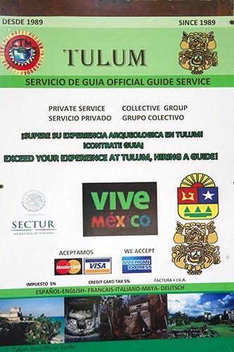 Tulum Signage