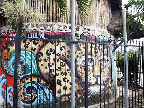 Tulum Village Mural