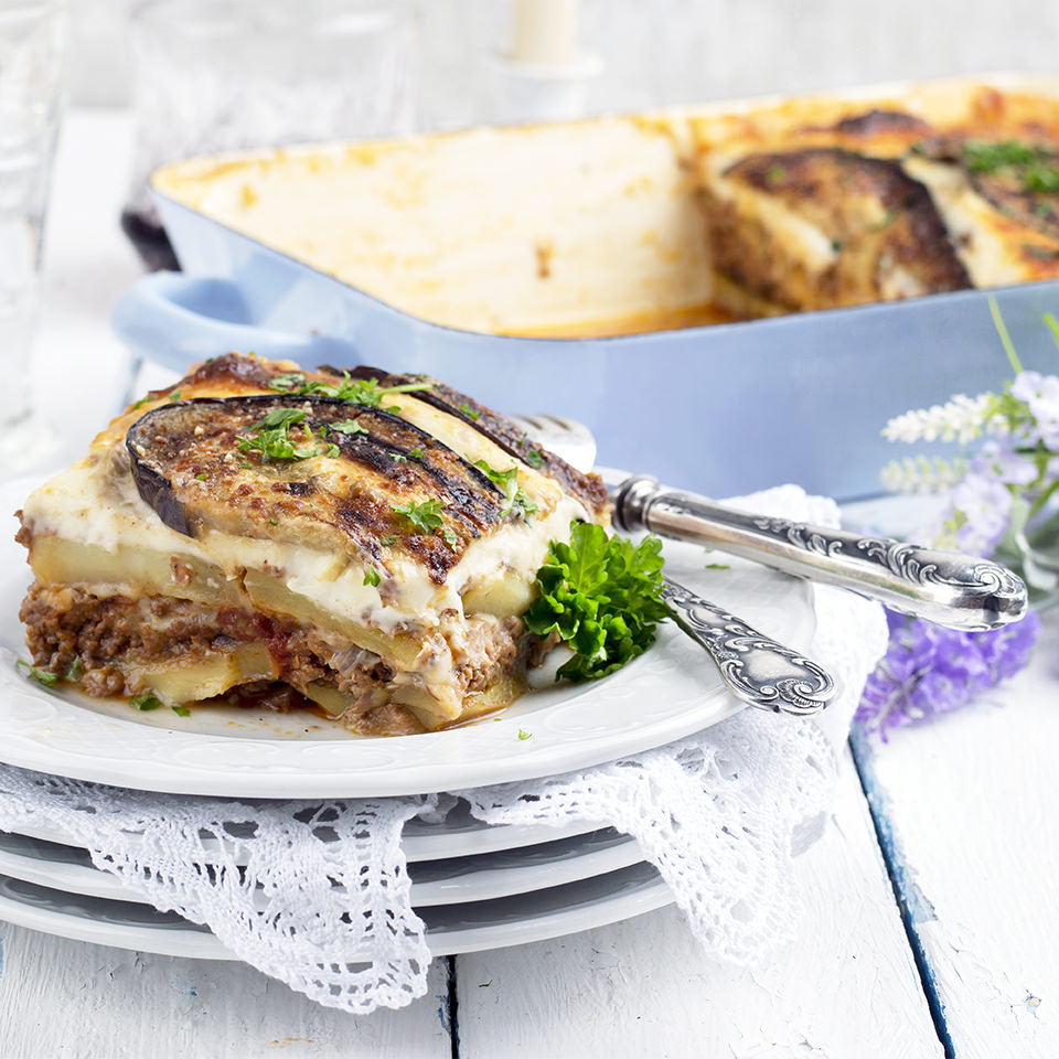 Vegetarian Moussaka Food