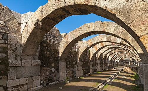 Ancient Turkish Ruins