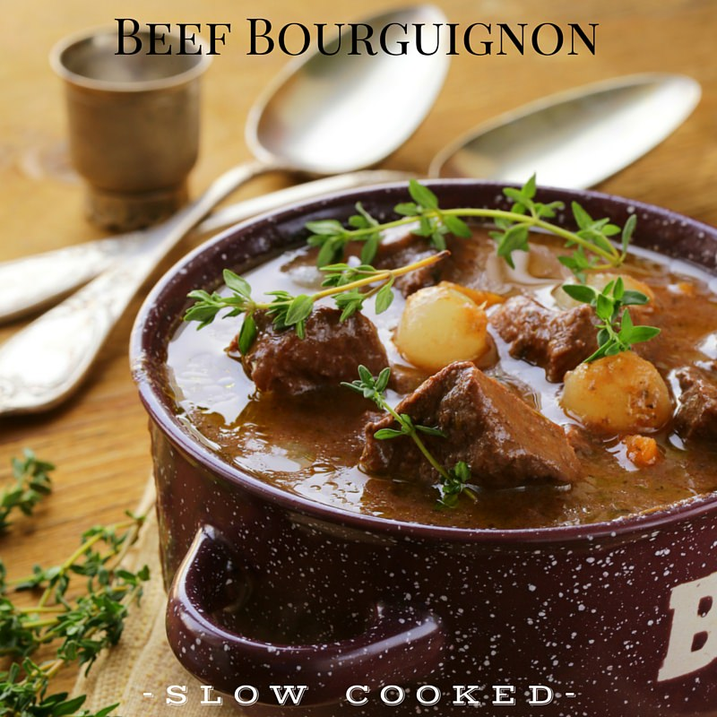 Beef Bourguignon - Instagram