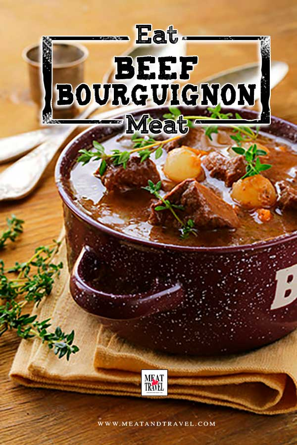How to make Slow Cooked Beef Bourguignon - Classic French stew recipe