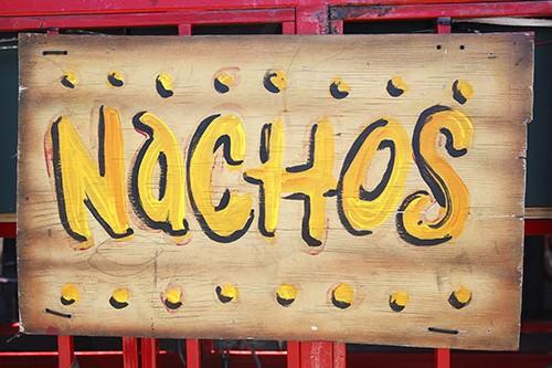 Nachos Sign Cabo Cantina