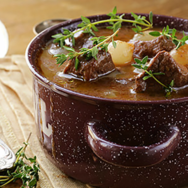 Slow Cooked Beef Bouguignon - Classic French stew recipe
