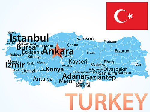 Map of Turkey - Where to Visit in Turkey