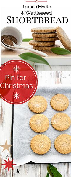 Wattleseed Shortbread Christmas Giving Pin