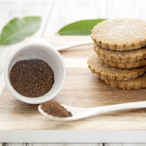 Wattleseed Shortbread Cookies