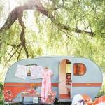 Glamping Camping Van