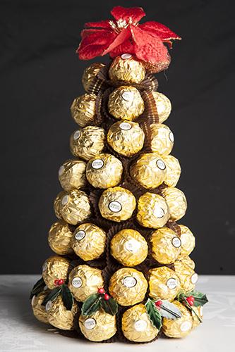Chocolate Tree Christmas Decoration