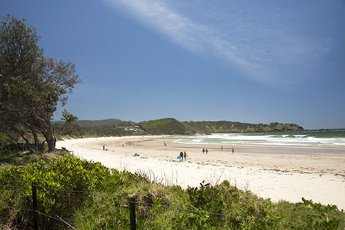 Diggers Beach - Long Board Surf Spot Coffs Harbour
