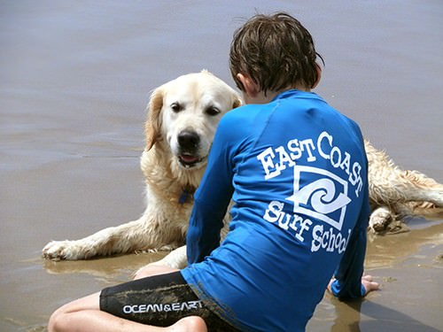 East Coast Surf School - Learn to Surf - Photo Credit Helene Enevoldson