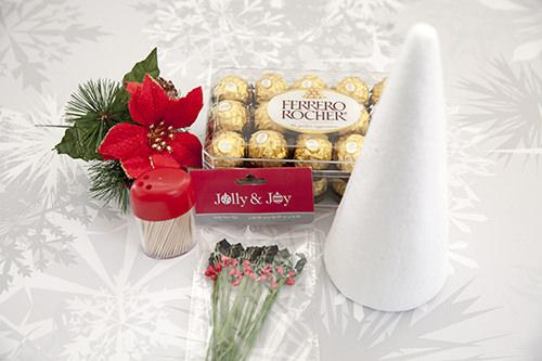 Ferrero Rocher Christmas Tree Centrepeice