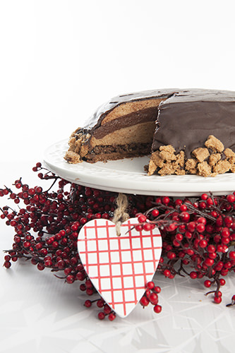 Buche de Noel -French Layer Cake