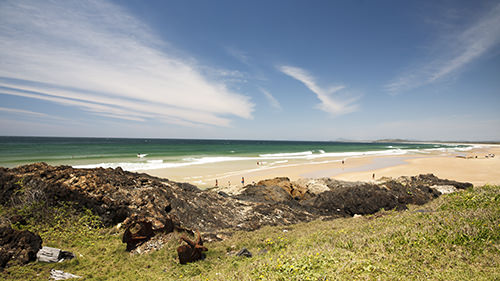 Gallows Beach - Coffs Coast Surf Spot