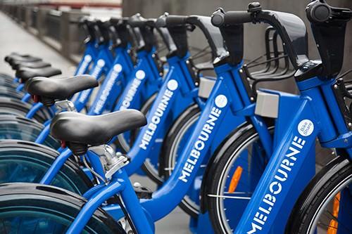 Melbourne City Bike Rides