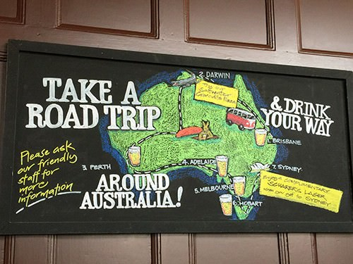Aussie Beer Road Trip at The Australian Hotel