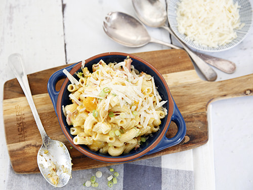 Loaded Macaroni Cheese Rice Cooker