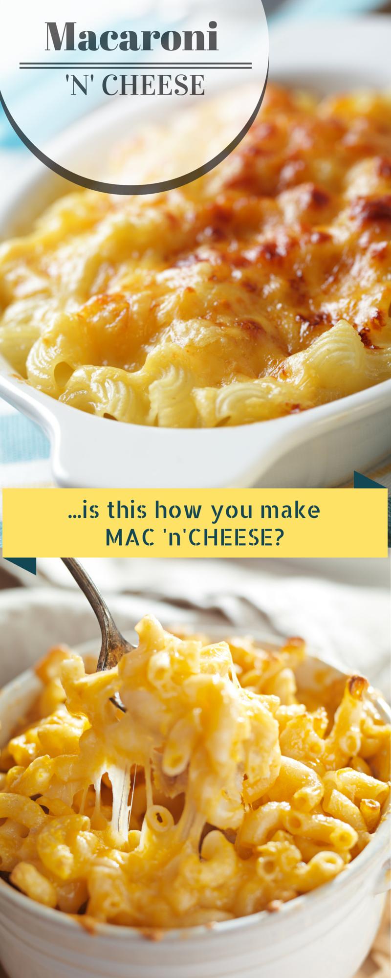 Delicious MAC 'N' CHEESE Recipe