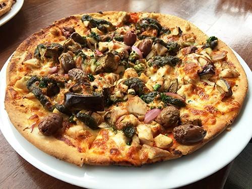 Meditereannean Pizza