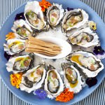 Oyster Plate -Garden Kitchen