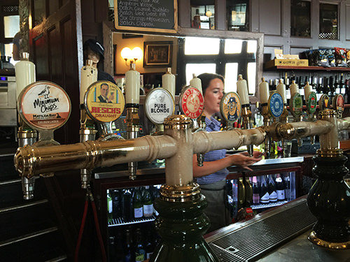 The Australian Beer Selection & Old Taps
