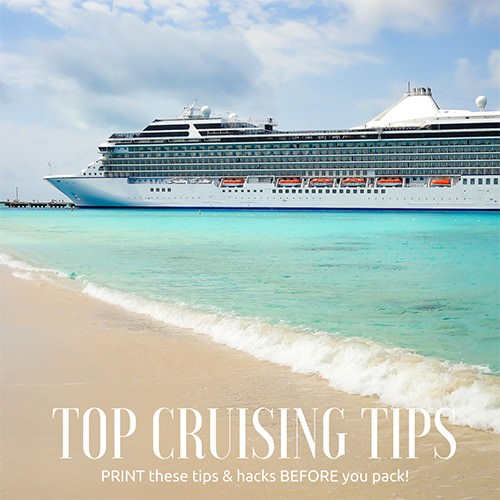Top Cruising Tips for first time Cruisers
