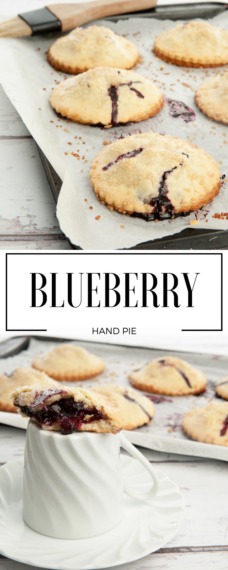 BLUEBERRY Hand Pie Pin