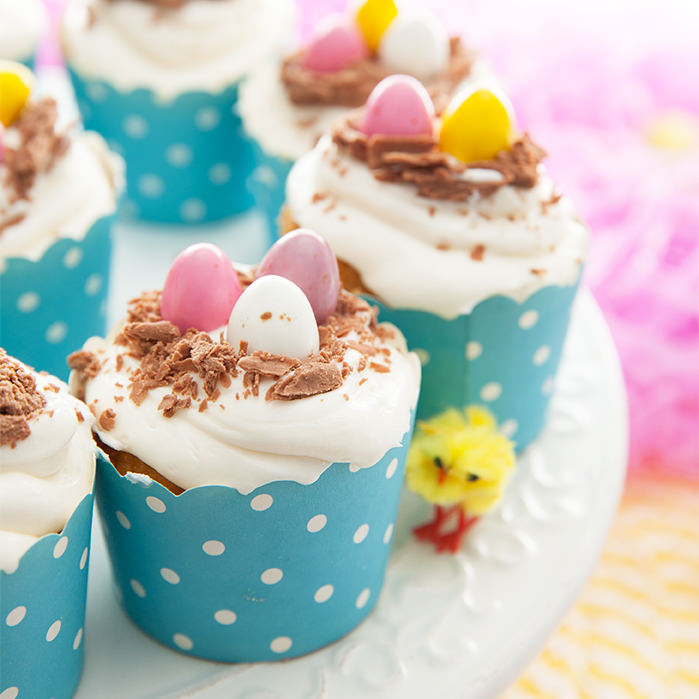 Close Up Easter Egg Cupcakes Submission