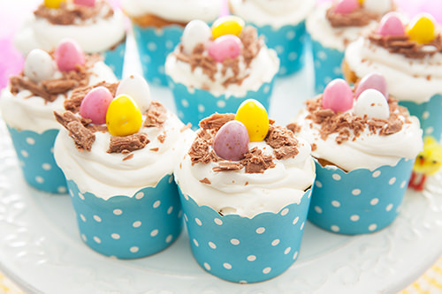 Featured Easter Egg Cupcakes