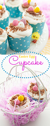 Pin Easter Egg Cupcakes