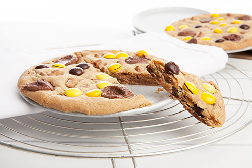 Caramel Pizza Cookie