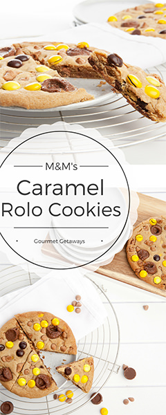 Caramel Rolo Cookies - Pin Me