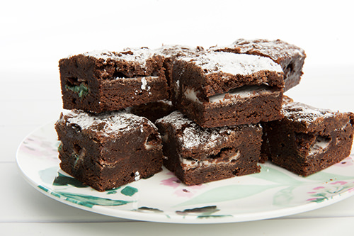 Chocolate Mint Brownie