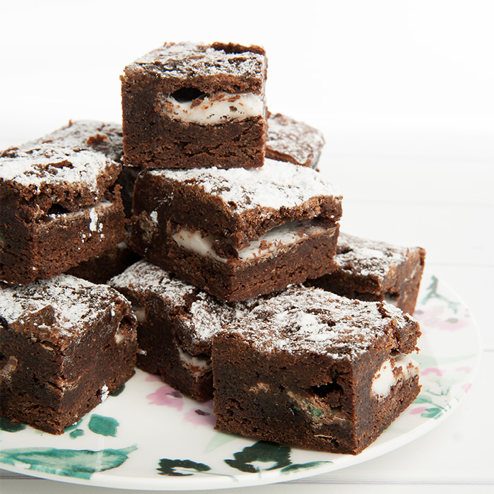 Chocolate Peppermint Brownie