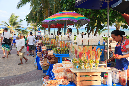 Playa Del Carmen Seaside Markets